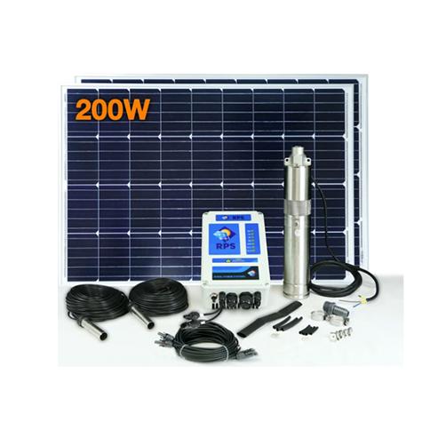 RPS 200 Solar Well Pump Kit