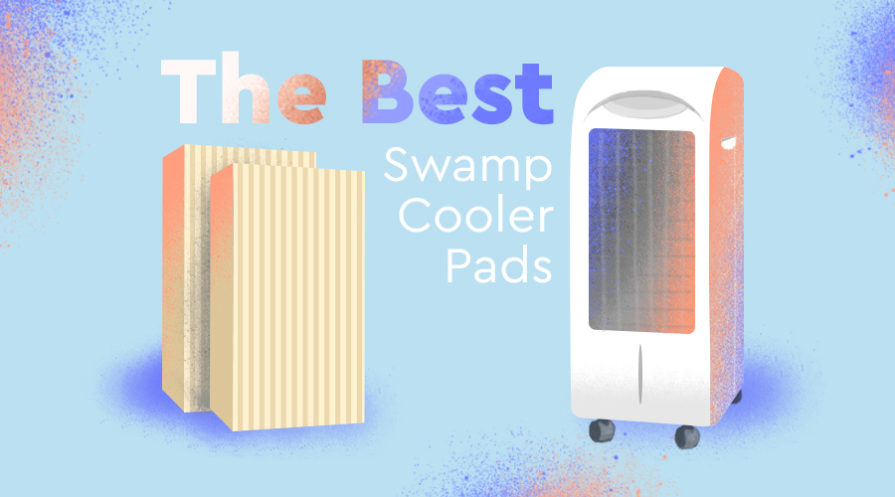 Swamp cooler and pads featuerd image.