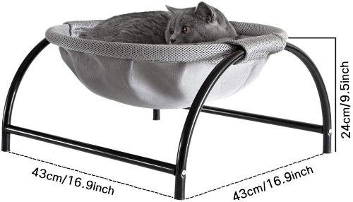 JUNSPOW Free-Standing Indoor/Outdoor Hammock Bed