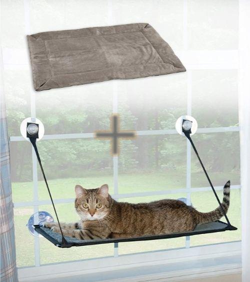 K&H Pet Products EZ Window Mount Kitty Sill