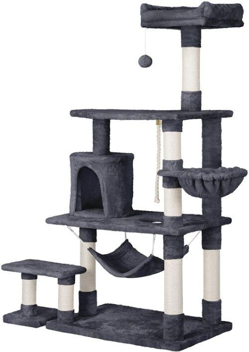 "YAHEETECH 62"" Multi-Level Cat Tree"
