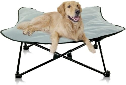 Outrav Portable Elevated Dog Bed