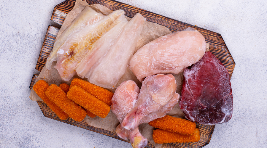 all types of frozen meat
