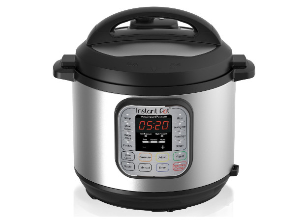 Instant Pot isolated on white background