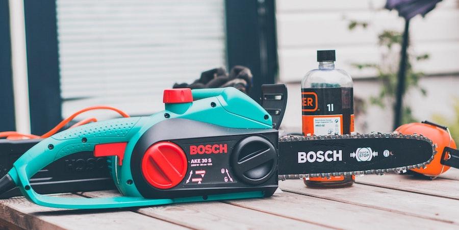 Small Bosch Chainsaw