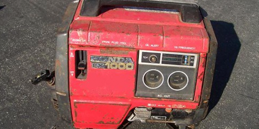 Used Generator at Rest