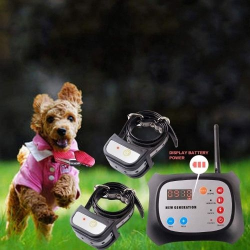 JUSTPET Rechargeable Wireless Dog Containment System