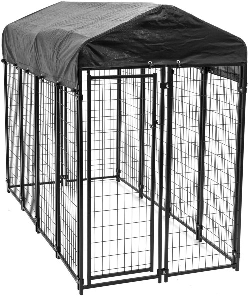 Lucky Dog Uptown Welded Wire Outdoor Kennel