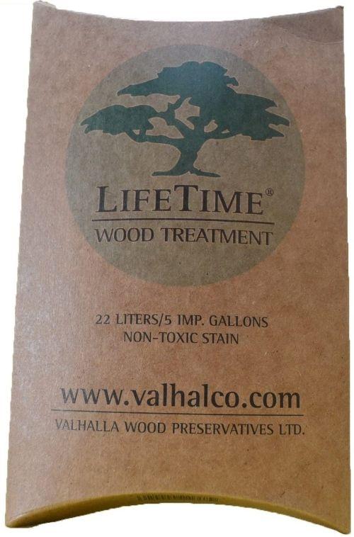 Valhalla Wood Preservatives Lifetime Wood Treatment