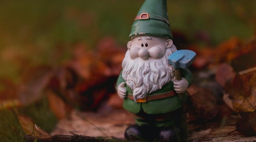 cute garden gnome