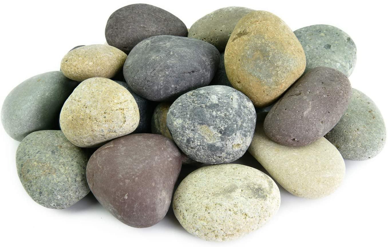 LF Inc. Mixed Mexican Beach Pebbles