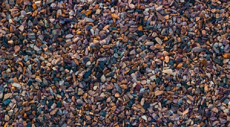 multicolor decorative gravel
