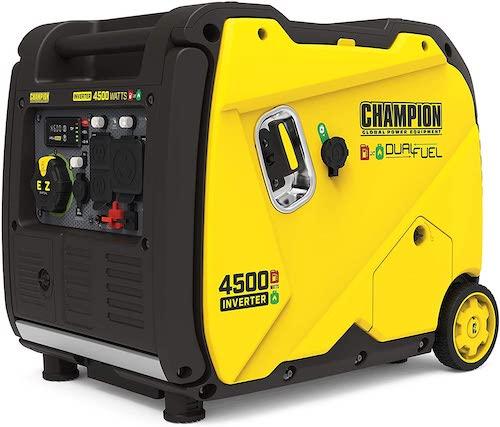 Champion Power Equipment 200988 4500-Watt Dual Fuel Portable Inverter Generator