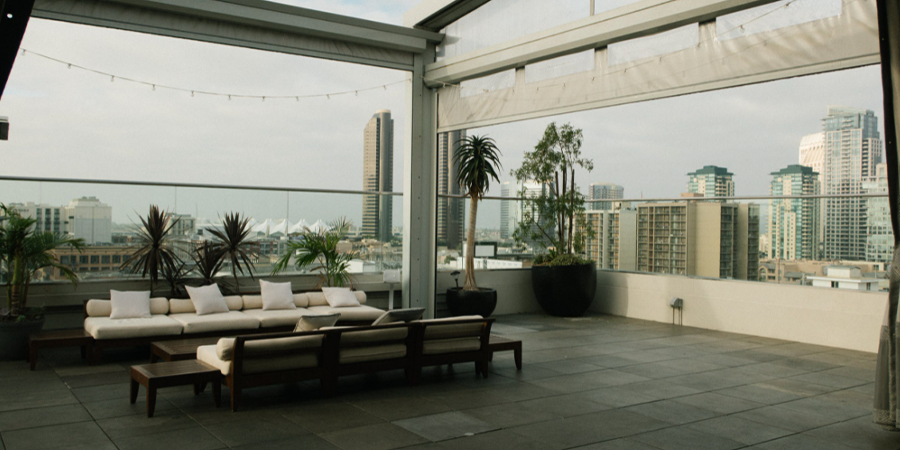 City Rooftop Patio Furniture