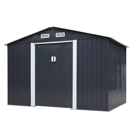 JAXSUNNY 6 x 9 FT Outdoor Metal Storage Shed