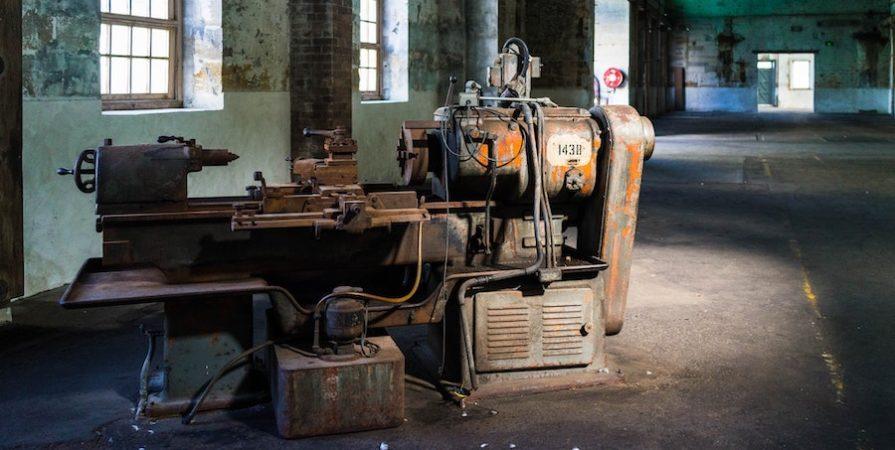 Rusted Old Generator
