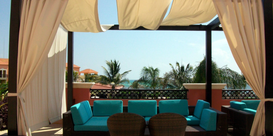 Patio Furniture with Awning