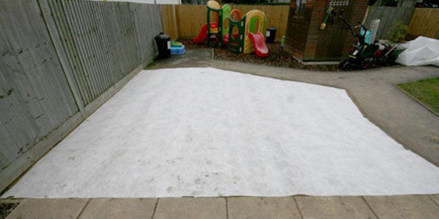 Waterproof Membrane On Ground