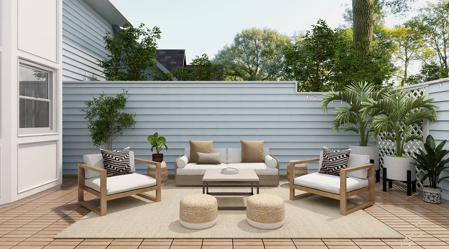 brown sofas with the best outdoor throw pillows