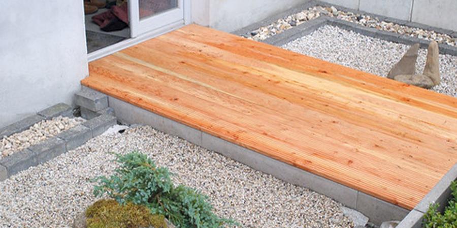 Zen Garden with Deck