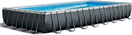 Intex Ultra XTR Rectangular Pool Set with Saltwater System