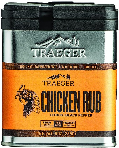 Traeger Chicken Rub with Citrus and Black Pepper