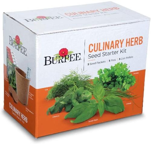 Burpee Culinary Herb Starter Kit