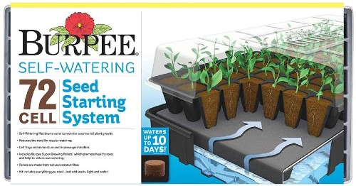 Burpee Self-Watering 72 Cell Seed Starting Kit