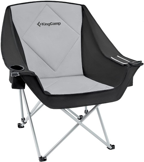 Camping Checklist: What Basics Do I Need For Camping? - KingCamp Oversize Padded Camping Chair