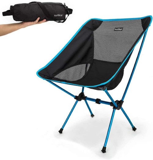 Sunyear Compact Collapsible Backpack Chair