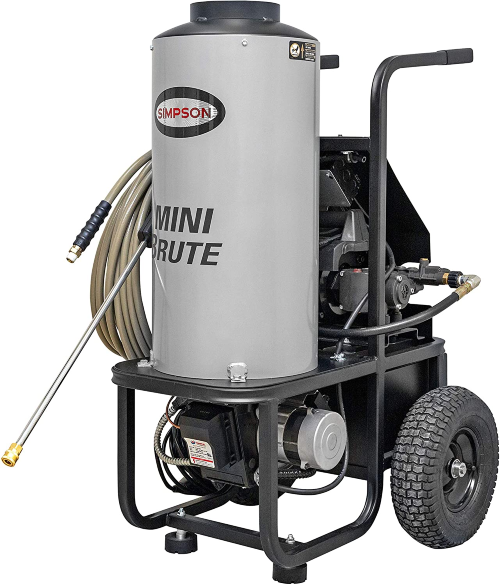 Simpson MB1518 Diesel Fired Hot Water Pressure Washer