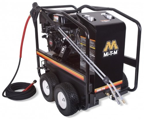 Maxell Mi-T-M HSP-3504-3MGH HSP Hot Water Gasoline Direct Drive Pressure Washer