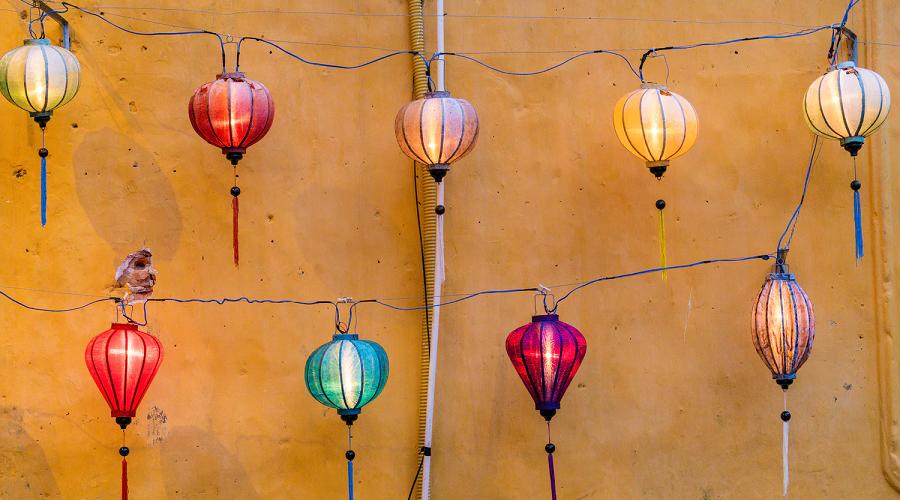 4.Ornamental Lantern Chain