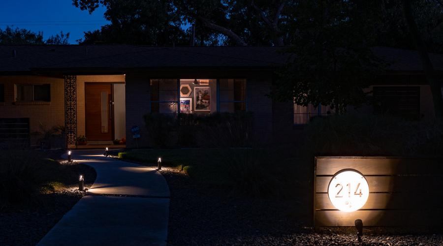 Light The Way Home lights