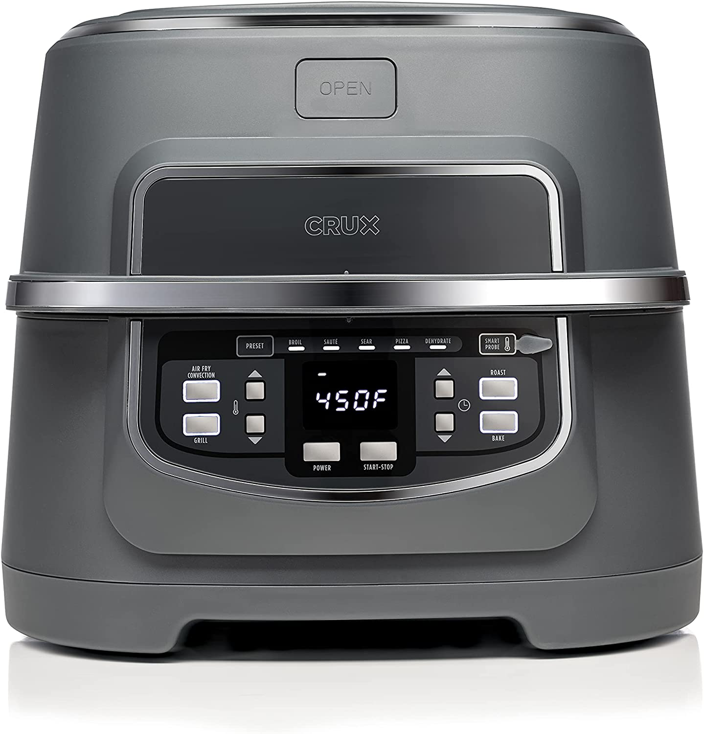 Crux Indoor Grill and Air Fryer