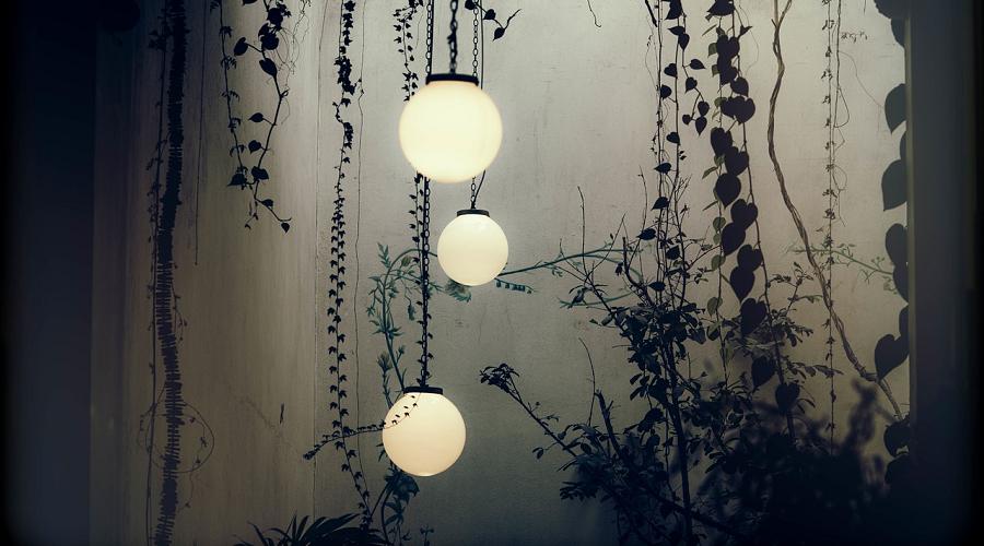 glowing globes