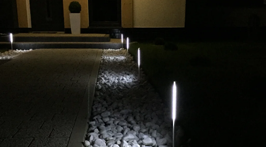 aluminum garden lights