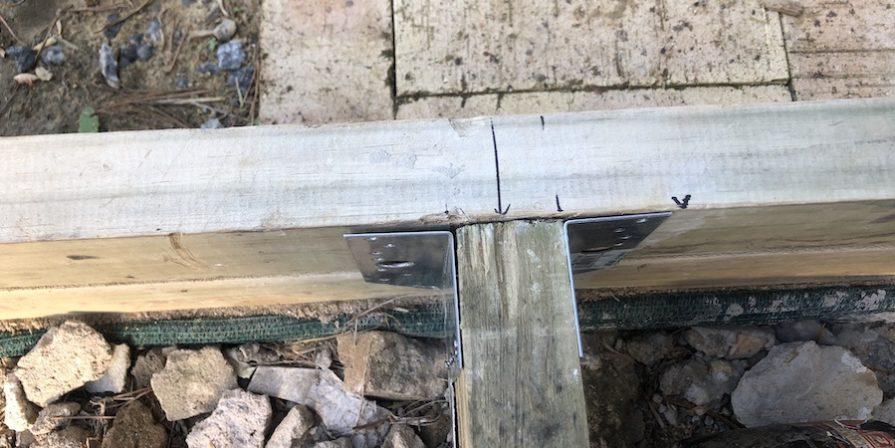 Deck frame details