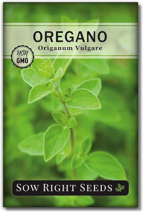 Pack Of Oregano Seeds