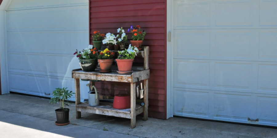 Portable Potting Bench