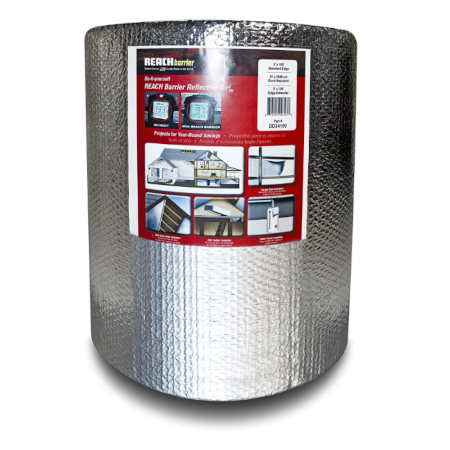 Reach Barrier DD24100 Air Double Reflective Polyethylene Insulation Roll