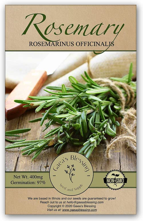 Pack Of Rosemary Seeds