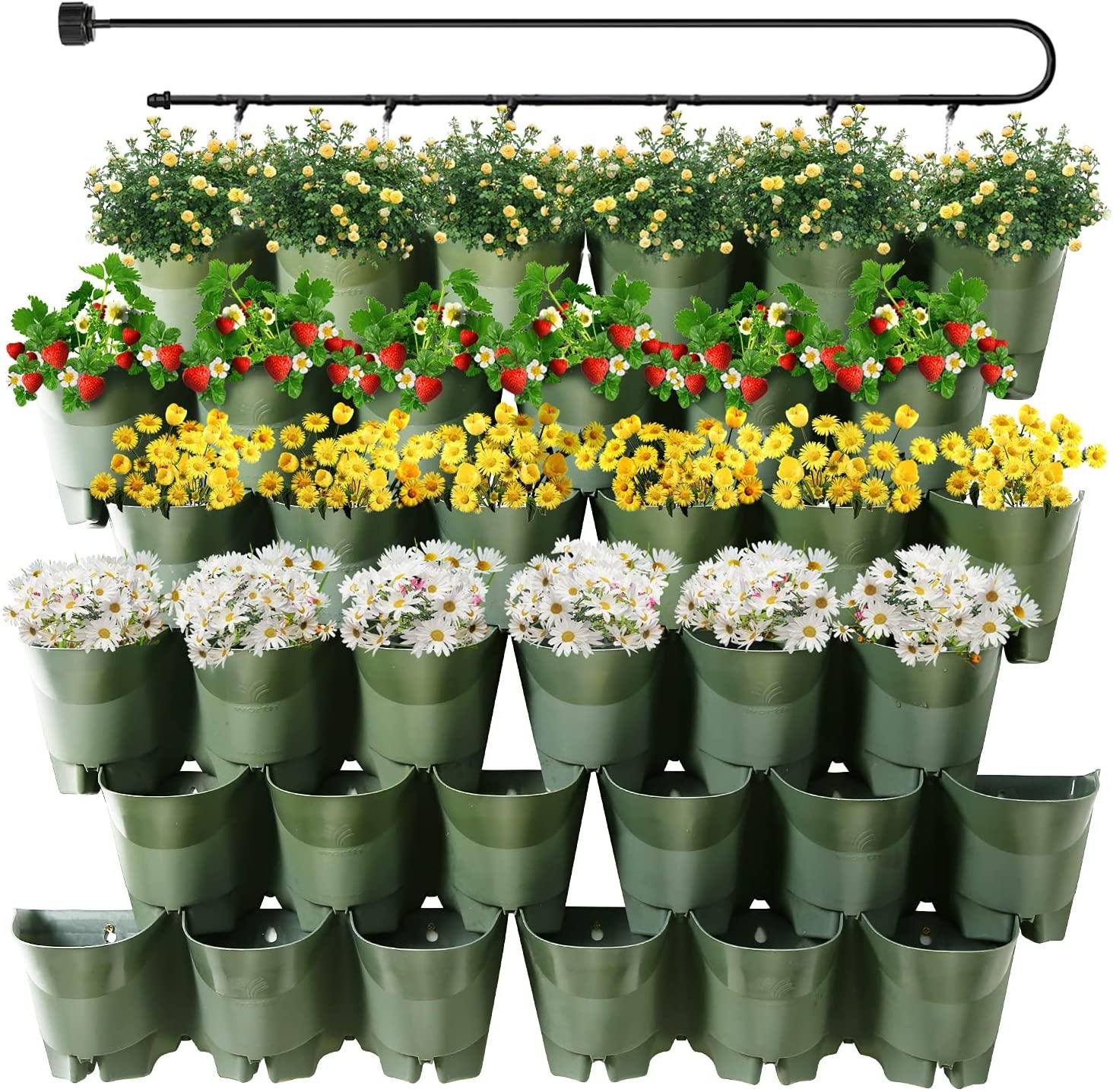 Worth Garden Self Watering Vertical Planter