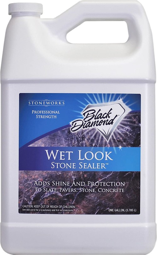 Black Diamond Stoneworks Wet Look Natural Stone Sealer
