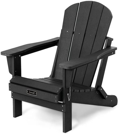 Folding Classic Adirondack Chairs