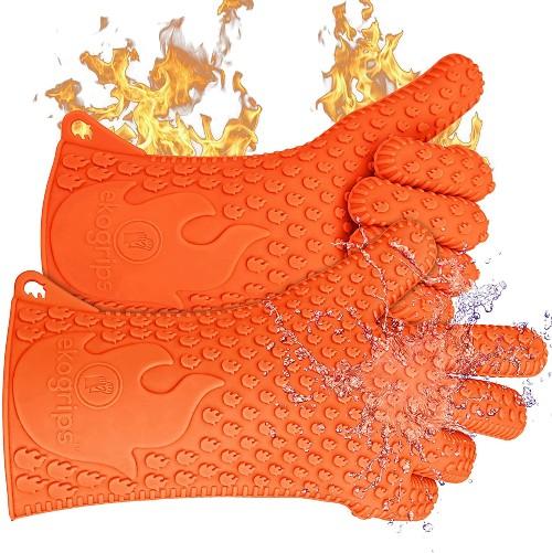Jolly Green Ekogrips Premium Heat-Resistant BBQ Gloves