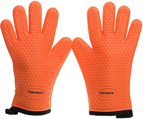 Kitchen Perfect Silicone Smoker Oven Gloves