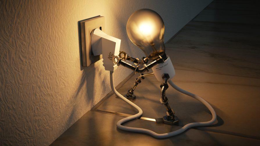 Light bulb plug in