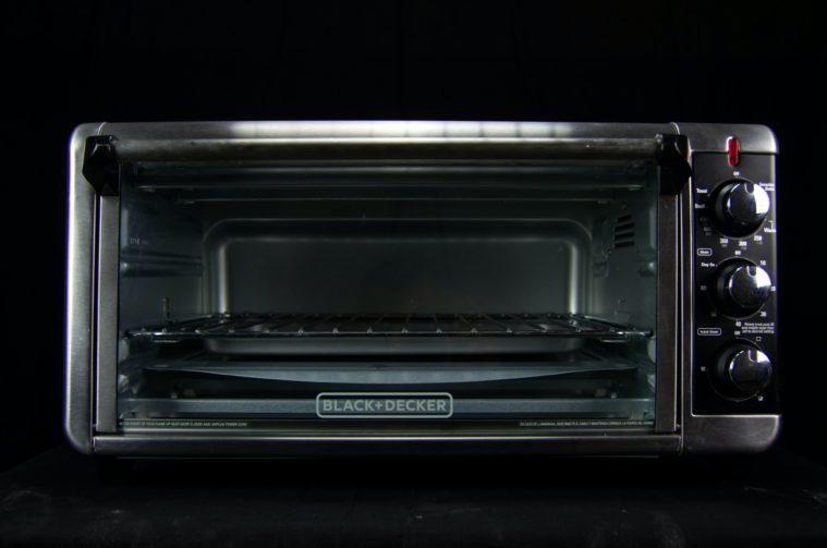 Black small oven