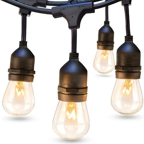 Addlon 48 ft Commercial Grade Outdoor String Lights